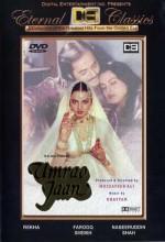 Umrao Jaan (1981) afişi