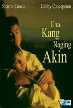 Una Kang Naging Akin (1991) afişi