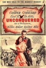 Unconquered (1947) afişi
