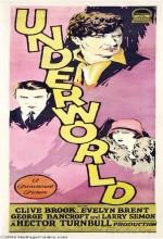 Underworld (1927) afişi