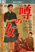 Uwasa No Onna (1954) afişi