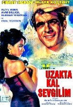 Uzakta Kal Sevgilim (1965) afişi