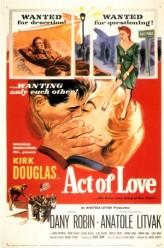 Un Acte D'amour (1953) afişi