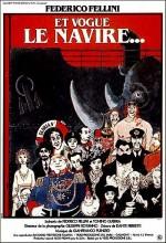 Ve Gemi Gidiyor (1983) afişi