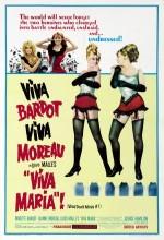 Viva Maria! (1965) afişi