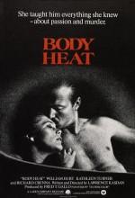 Vücut Ateşi (1981) afişi