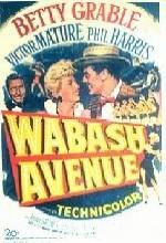 Wabash Avenue (1950) afişi