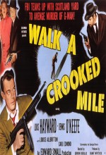 Walk A Crooked Mile (1948) afişi