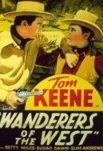 Wanderers Of The West (1941) afişi