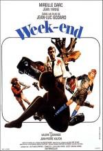Week End (1967) afişi