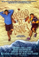Weekend At Bernie's (1989) afişi