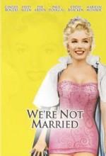 We're Not Married! (1952) afişi