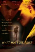 What Matters Most (2001) afişi