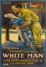White Man (1924) afişi