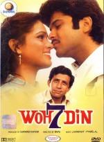 Woh Saat Din (1983) afişi