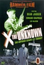 X: The Unknown (1956) afişi