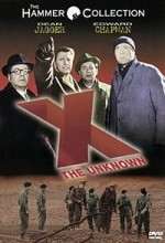 X The Unknown (1956) afişi