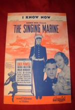 The Singing Marine (1937) afişi