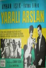 Yaralı Aslan (1963) afişi