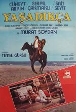 Yaşadıkça (1984) afişi
