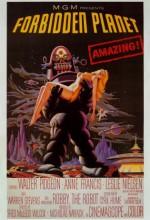 Yasak Gezegen (1956) afişi