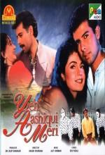Yeh Aashiqui Meri (1998) afişi