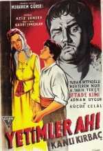 Yetimler Ahı (1956) afişi