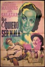 Yo Quiero Ser Mala (1950) afişi