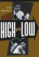 Yüksek Ve Alçak (1963) afişi