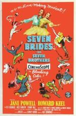 Yedi Kardeşe Yedi Gelin (1954) afişi
