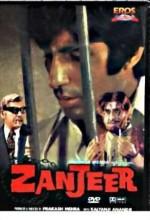 Zanjeer (1973) afişi