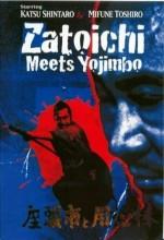 Zatoichi Meets Yojimbo (1970) afişi