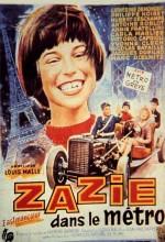 Zazi Metroda (1960) afişi