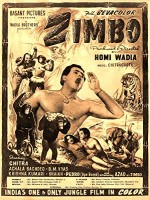 Zimbo (1958) afişi