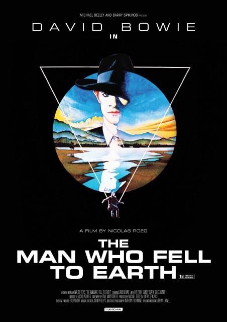 Dünyaya Düşen Adam (1976) afişi