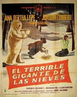 El Terrible Gigante De Las Nieves