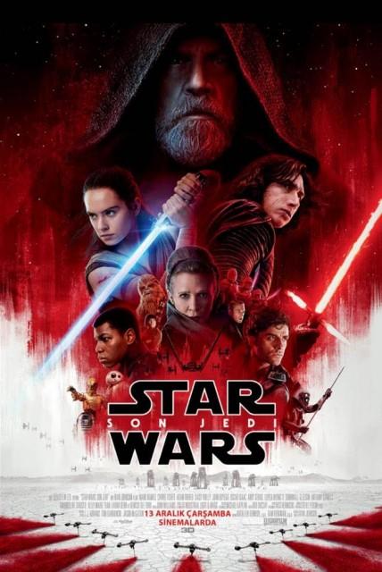 Star Wars: Son Jedi (2017) afişi