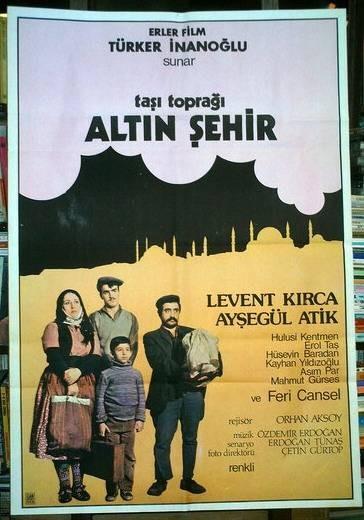 Taşı Toprağı Altın Şehir (1978) afişi