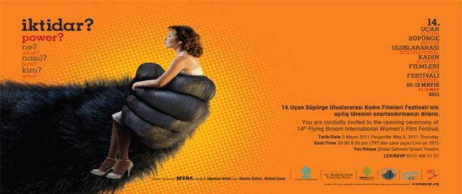 14. Uçan Süpürge Uluslararası Kadın Filmleri Festivali Başlıyor