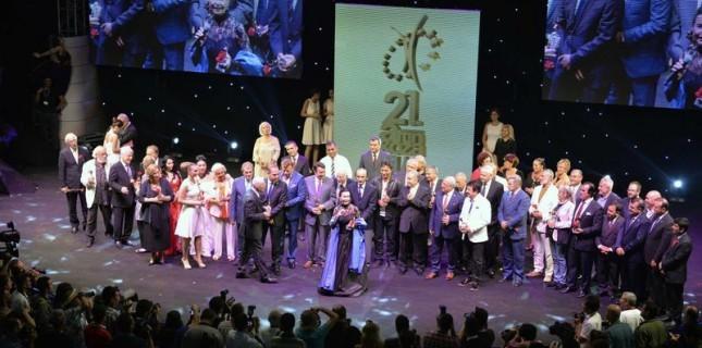 21. Altın Koza'da Onur Ödülleri Dağıtıldı