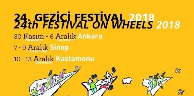 24. Gezici Festival İçin Geri Sayım Başladı