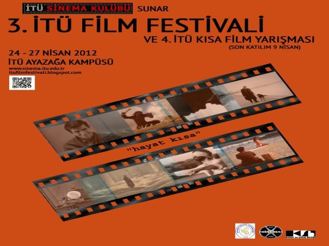 3. İTÜ Film Festivali ve Kısa Film Yarışması