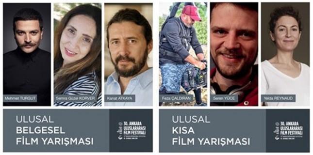 30. Ankara Uluslararası Film Festivali'nde Belgesel ve Kısa Filmler Belli Oldu!