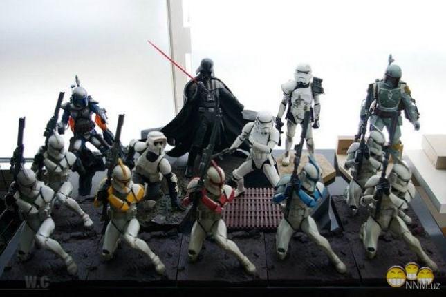 56 bin liralık Star Wars koleksiyonu çalındı