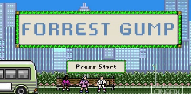 8 Bit'lik Forrest Gump Karşınızda