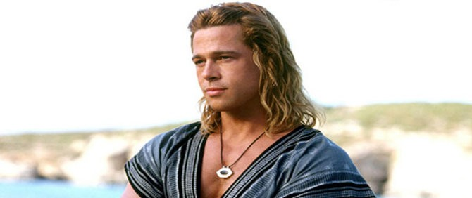 Brad Pitt'e Troia Atlı Davet, Brad Pitt'den Haber Var!