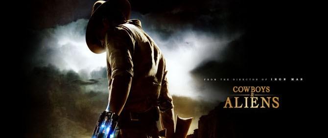 Cowboys & Aliens Filminin Fragmanı İlk Defa Sinemalar.com'da!