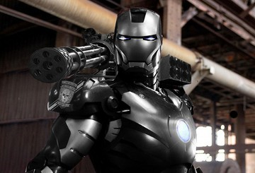 'Iron Man 2'den Ilk Fotoğraflar