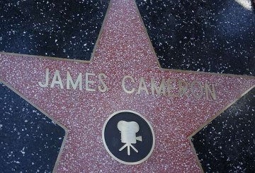 James Cameron Şöhretler Kaldırımı'nda