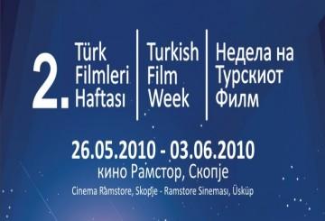 Makedonya Türk Filmleri Haftası Başlıyor